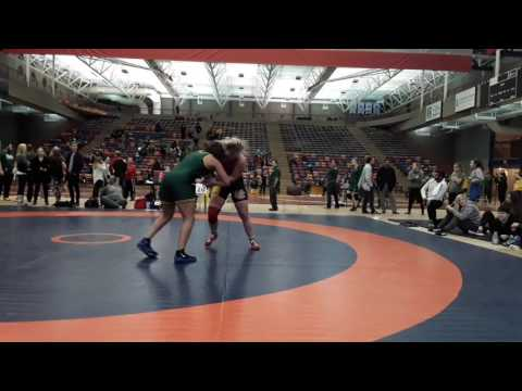 2016 Dino Invitational: 63 kg Taylor Cartwright vs. Sena Debia