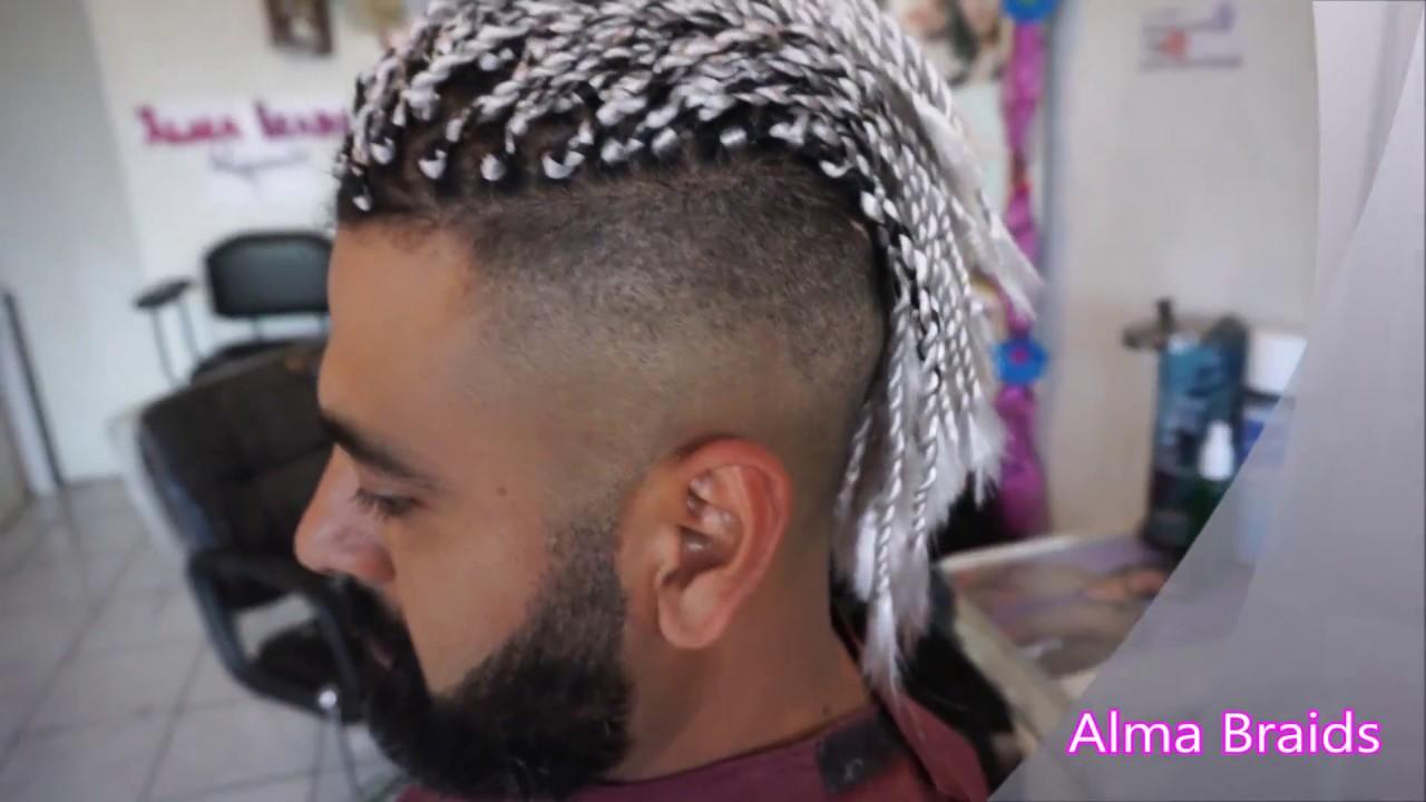 Twist for men twists para hombres con extensiones youtube - Peinados de chico ...