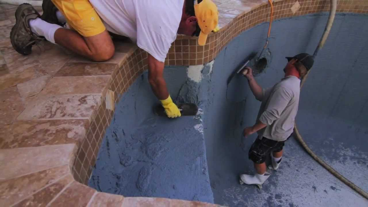 How To Do Pool Resurfacing   Part Two (Travertine Pool Deck, Pavers,  Refinish)   YouTube