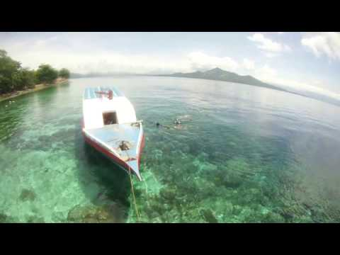 paradise island in north sulawesi