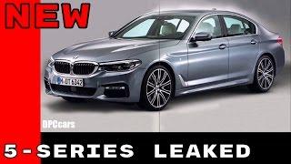 G30 2017 BMW 5 Series Photos Leaked