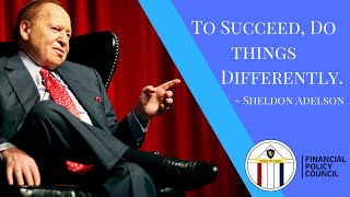 To Succeed, Do Things Differently | Sheldon Andelson