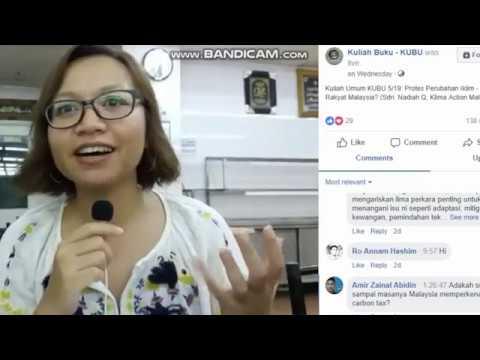 Protest Perubahan Iklim : Apakah Peranan Rakyat Malaysia