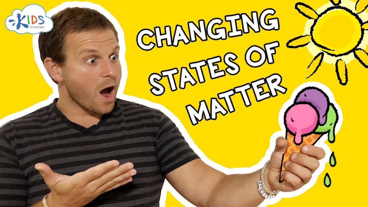 small resolution of States of Matter for Kids: Change Examples