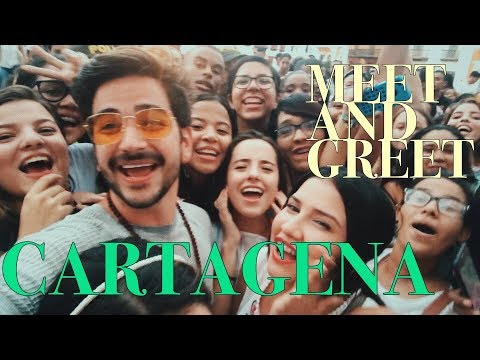 CARTAGENA y MEET AND GREET - Camilo y Evaluna