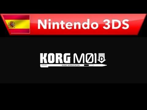 KORG M01D - Tráiler (Nintendo 3DS)