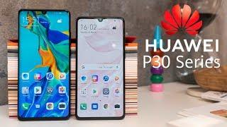 Huawei P30 y P30 Pro; Preview y primeras impresiones en español