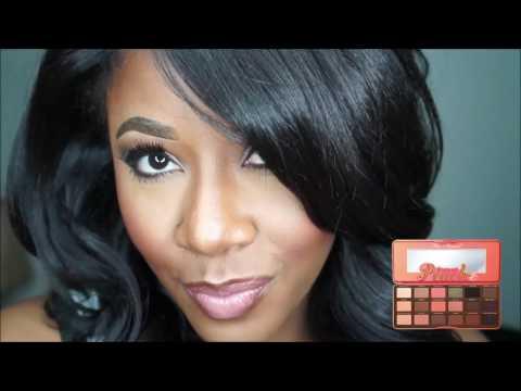 MOTD : Too Faced Sweet Peach Palette   MakeupMesha  wwwMakeupMeshacom