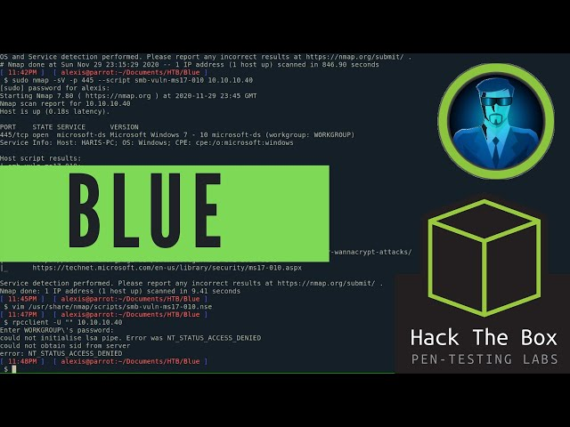 HackTheBox Blue Walkthrough - Learn Windows Enumeration