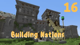 Minecraft :: Building Nations #16: Statue!