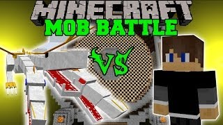 BRO VS THE KING - Minecraft Mob Battles - OreSpawn Mod
