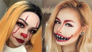 Amazing And Easy Halloween Makeup Tutorials Compilation 2018 - MUST SEE