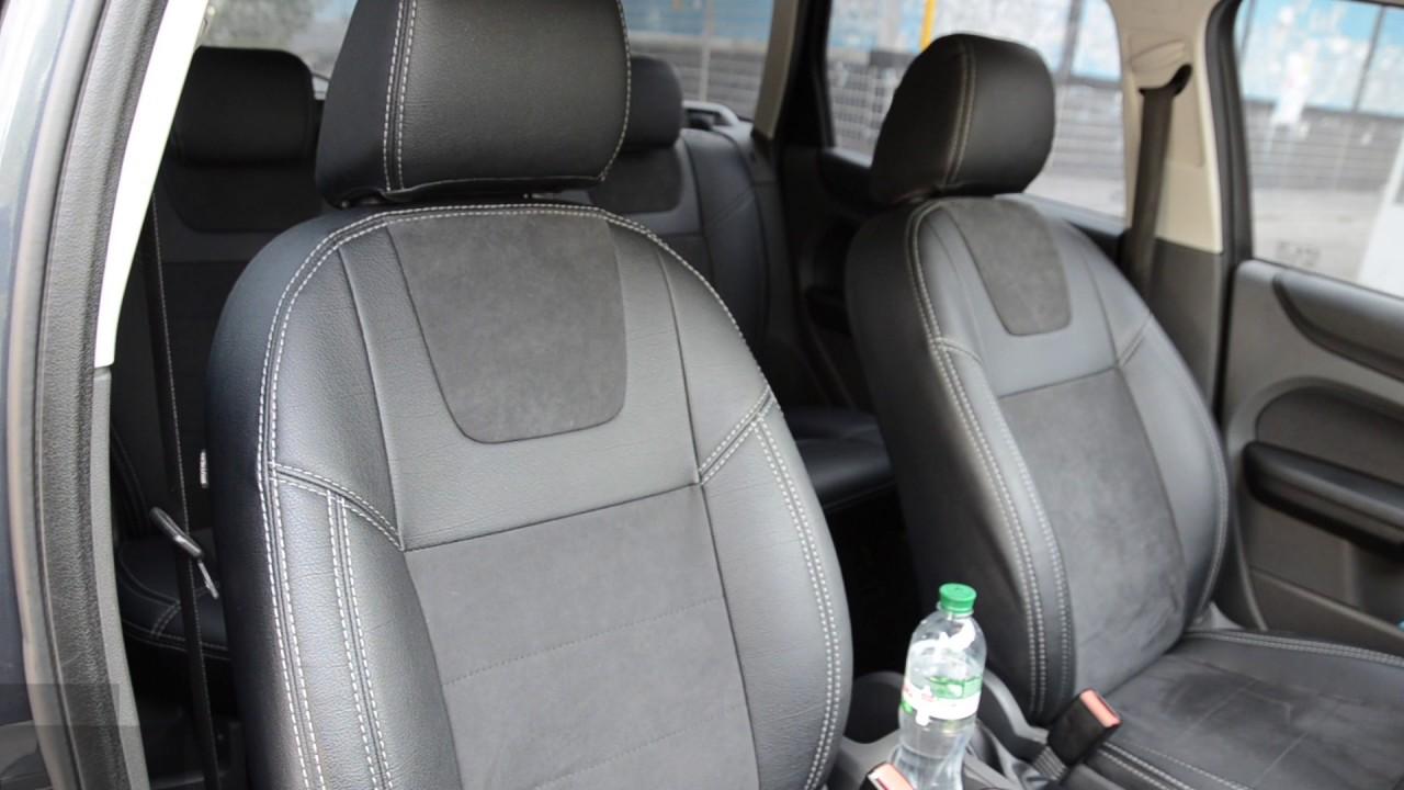 Модельные чехлы на сидения Premium для Ford Kuga II - YouTube