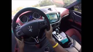 What Its Like To Drive A 2016 Maserati Ghibli S(POV)