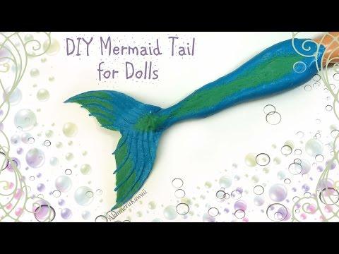 Diy Doll Mermaid