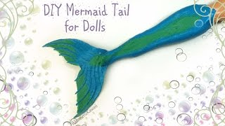DIY Doll Mermaid Tail