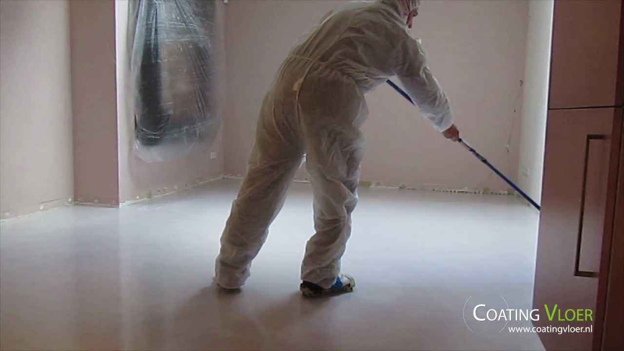 Gietvloeren van coatingvloer opbouw gietvloer youtube