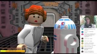 Стрим  Играем в ИНТЕРЕСНУЮ Lego Star Wars The Complete Saga  #НостальгияСЛариным