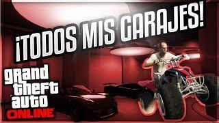 ¡ENSEÑO TODOS mis COCHES en GTA ONLINE! - TOUR POR MIS GARAJES