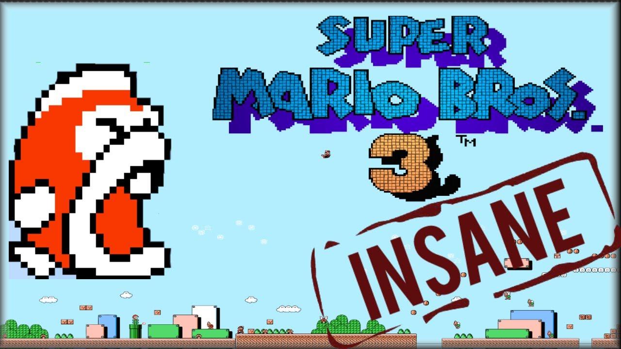 Super Mario Bros 3 || Big Bertha || Epic dodging skills ...