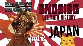 HoI4 - Endsieg - 1945 WW2 Japan - #12 Tanks vs Mountains... Otherwise it's going well!