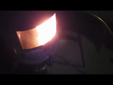 Печь на отработке из газового баллона универсальная. Часть 2.