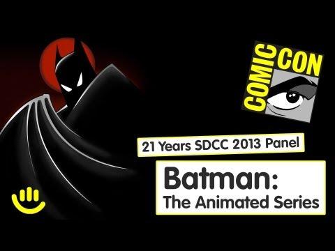 Batman: The Animated Series - 21 Years SDCC 2013 Panel [Full Panel, HD]