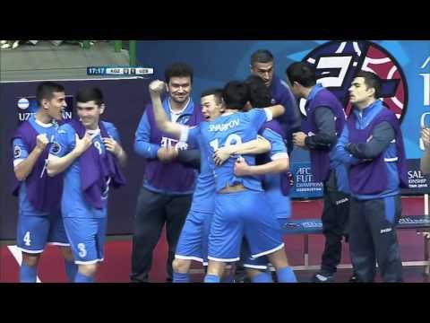 KYRGYZSTAN vs UZBEKISTAN: AFC Futsal Championship 2016 (Group Stage)