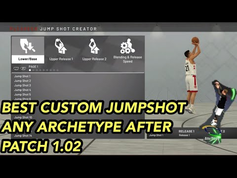 NBA 2K19 BEST JUMPSHOT FOR ANY ARCHETYPE AFTER PATCH 1 02 GREENLIGHT  GLITCHY JUMPSHOT SHARPSHOOTER