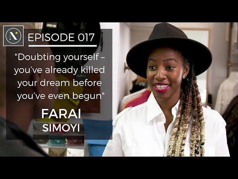 017   Farai Simoyi: Doubting yourself - you've already killed your dream before you've begun