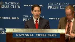 CDC Director Tom Frieden speaks at the National Press Club, July 22, 2014