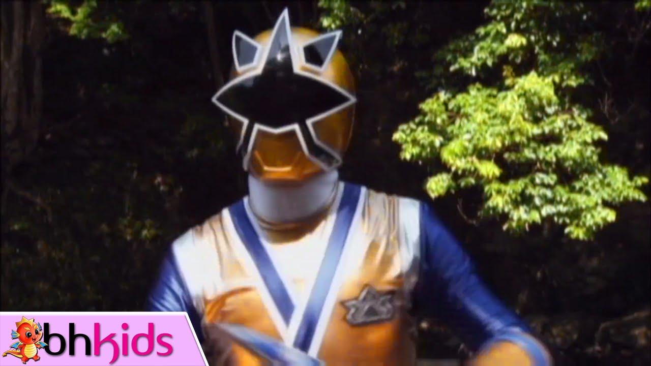 Siêu Nhân Thần Kiếm – Tập 17 Full HD : Siêu Nhân Vàng Kim Nhập Môn