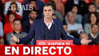 DIRECTO PSOE | Acto de PEDRO SÁNCHEZ en Madrid