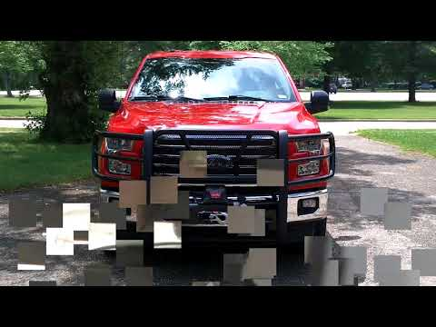 Westin HDX winch mount grille guard review