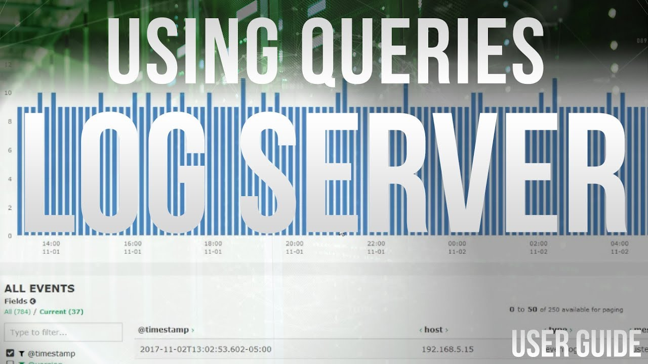 Using Queries in Nagios Log Server 2 - Dauer: 4 Minuten, 55 Sekunden