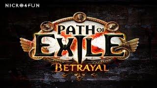 Link de la noticia de la liga: https://es.pathofexile.com/betrayal ...