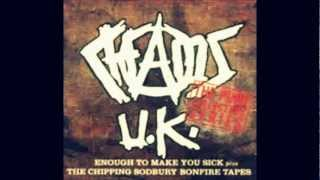 Chaos UK - I hate society w/lyrics