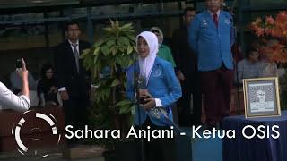 Sambutan Spektakuler Ketua OSIS SMA GIS   Periode 2014   2015