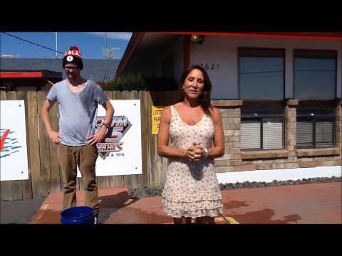 Faith Martin Accepts the Ice Bucket Challenge