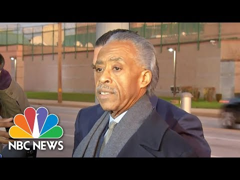 Rev. Al Sharpton Supports Rapper Meek Mill: He Is 'A Symbol Of The Abuse Of The System' | NBC News