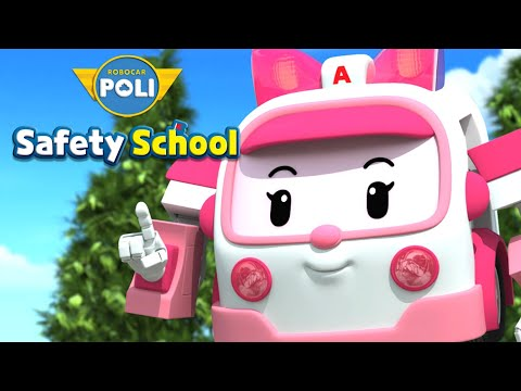 Daily Life Safety with AMBER | Opening Theme Song | Kids animation | Robocar POLI Safety School