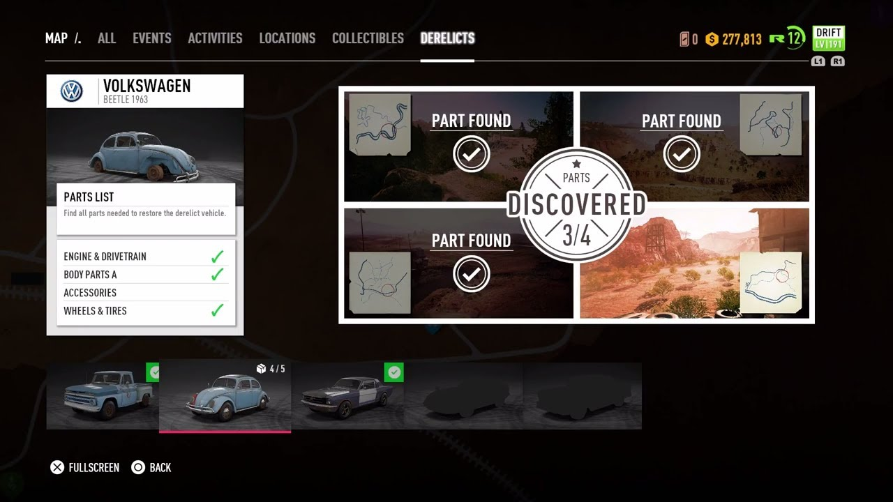 need for speed payback map derelicts