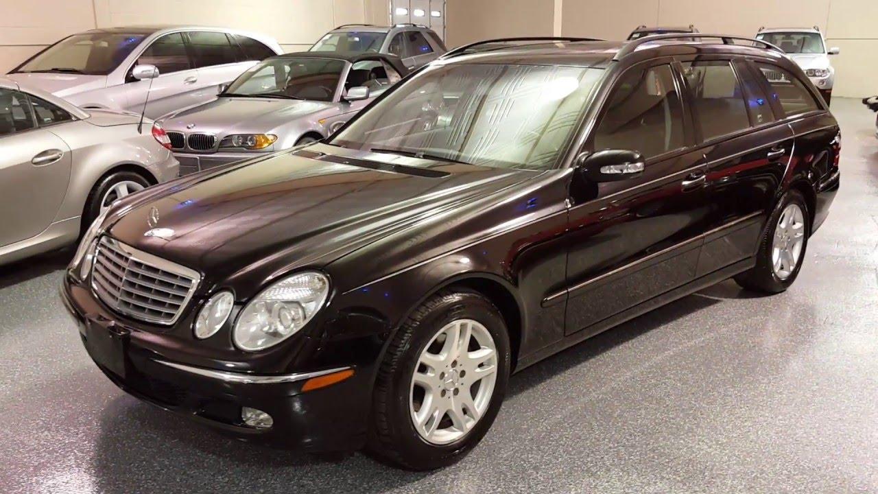 2004 Mercedes Benz E320 Wagon SOLD (#2549) Plymouth, MI