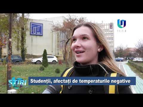 TeleU: Studenții, afectați de temperaturile negative