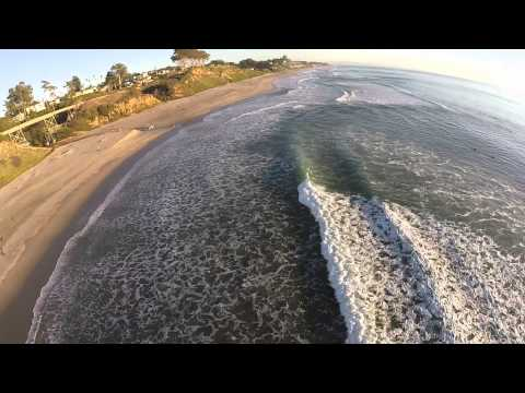 DJI Phantom 2 Drone - Flying Around La Selva Beach, CA