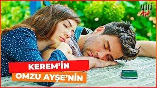 Ayşe ve Kerem Bahçede Beraber Uyuyor - Afili Aşk 13. Bölüm