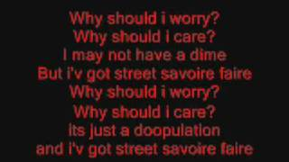 Oliver and Company (Why Should I Worry) Lyrics