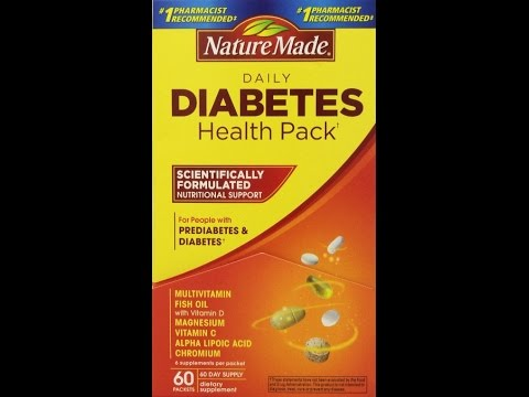 Unboxing PreDiabete Diabetes Vitamins Health Pack Nature Made Centrum Ship Worldwide