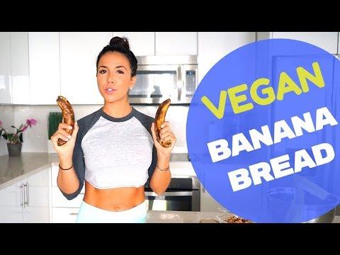 Vegan Banana Bread ! Quick And Easy Recipe