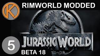 RimWorld Beta 18 Modded   WE NEED DEFENSE! - Ep. 5   Let's Play RimWorld Beta 18 Gameplay